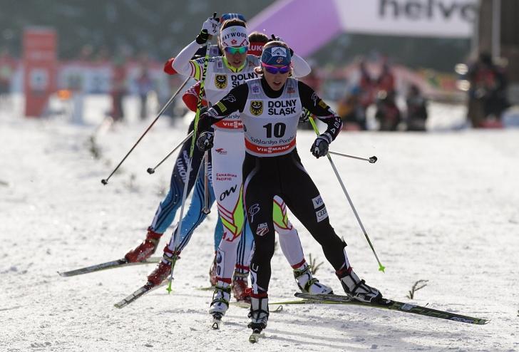 Timea Sara în Cupa Mondială de schi fond