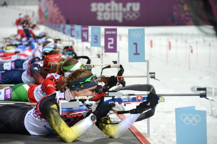 Eva Tofalvi, locul 26 la biatlon pursuit