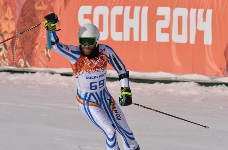 Alexadru Barbu, locul 22 la Slalom