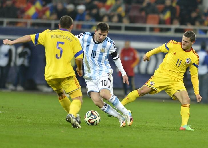 Egal de palmares contra Argentinei