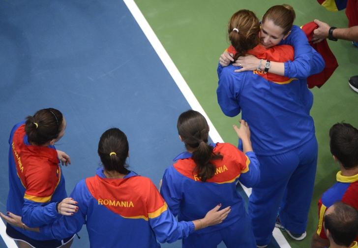 Fed Cup - Echipa României pentru întâlnirea cu Serbia
