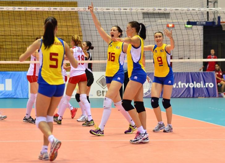 Echipa națională feminină de volei s-a reunit la Piatra Neamț