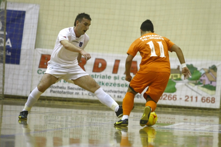 A început play-off-ul Ligii I la futsal