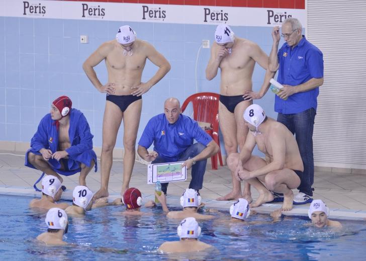 Echipa națională s-a reunit la bazinul Floreasca