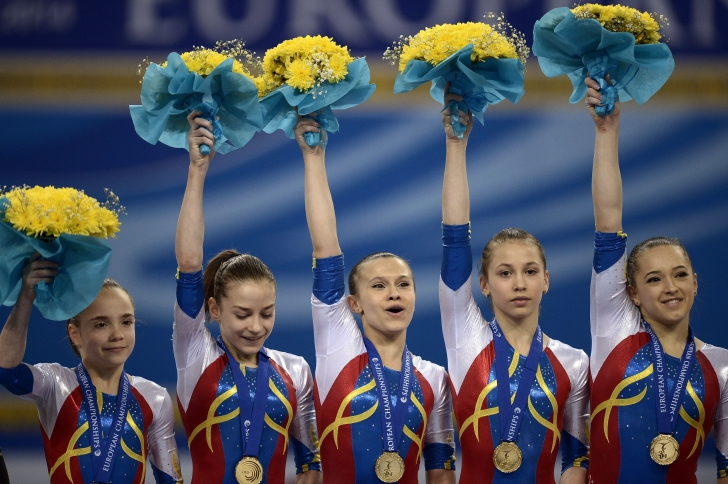 Echipa României, aur la Campionatul European