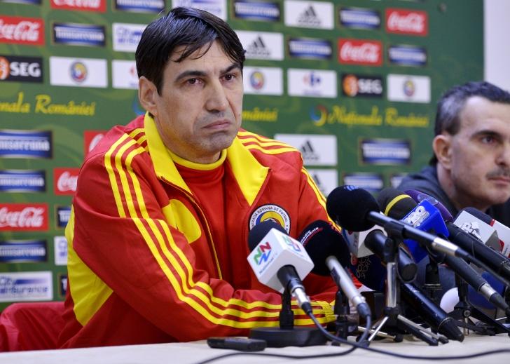 Victor Pițurcă începe pregătirea naționalei pentru preliminariile EURO 2016