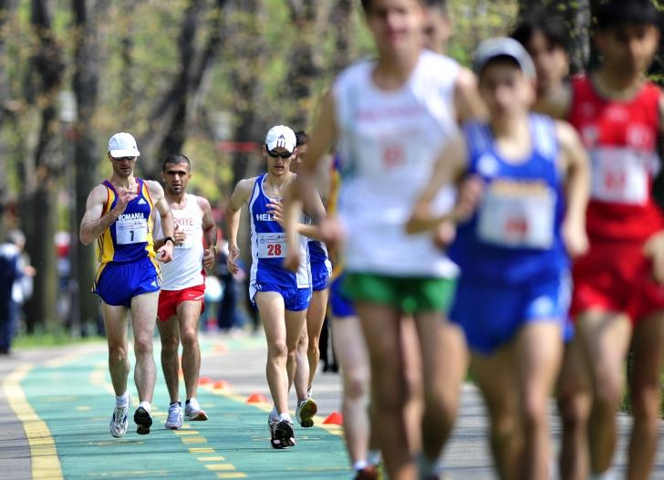 Campionatele naționale de marș se dispută la Arena Națională