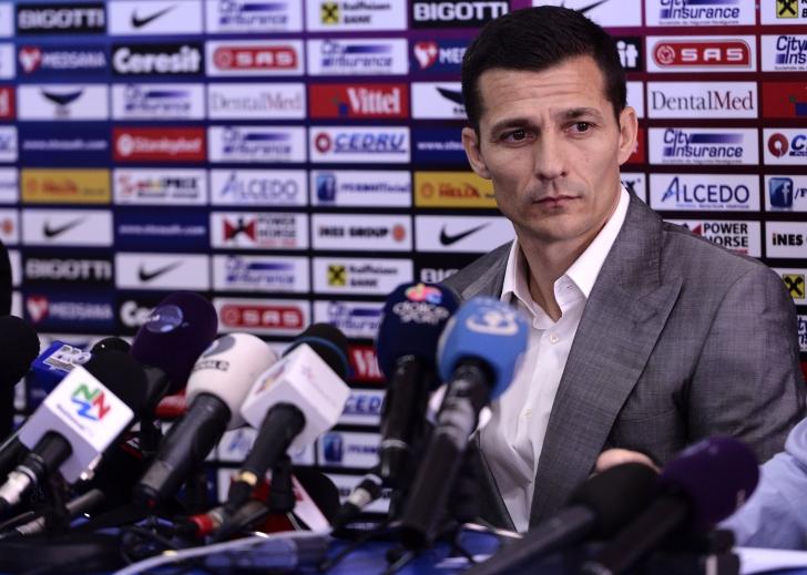 Constantin Gâlcă, prezentat oficial la Steaua