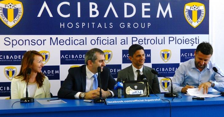 Acibadem a devenit sponsorul medical al FC Petrolul