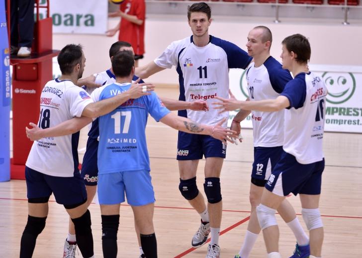 Două echipe românești în Liga Campionilor la volei