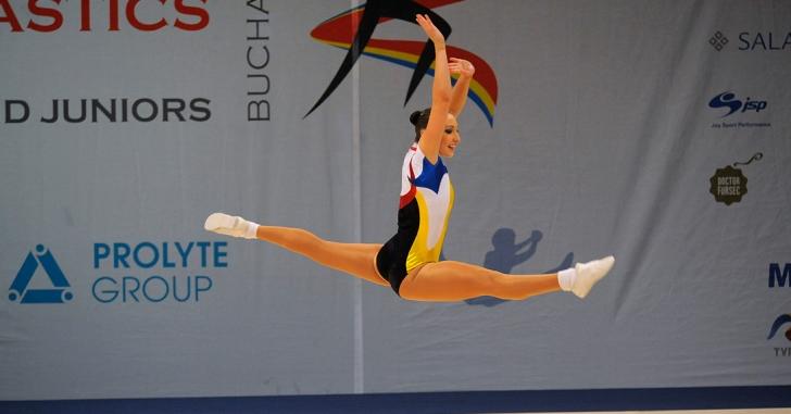 România favorită la Mondialele de gimnastică aerobică