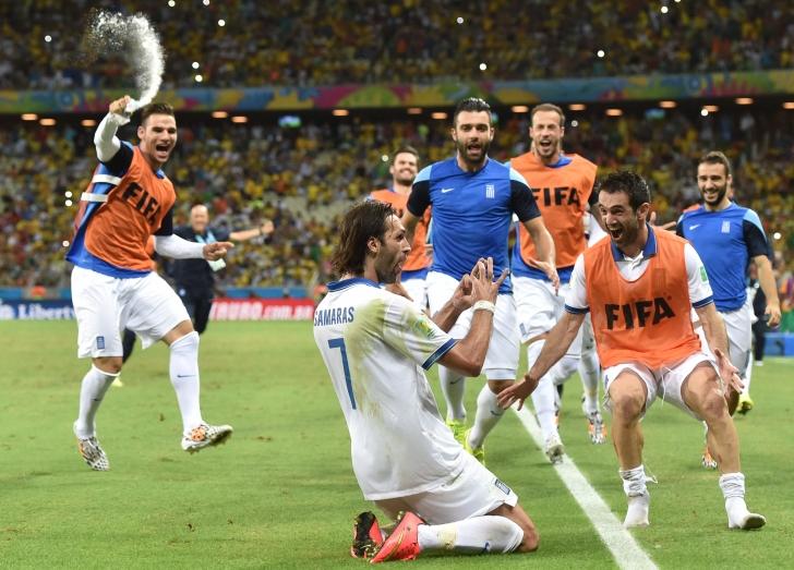 CM Brazilia 2014: Grecia s-a calificat in extremis