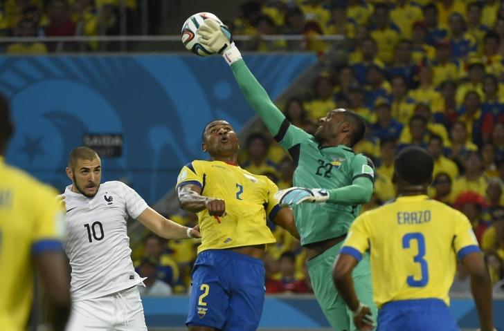 CM Brazilia 2014: Franța - Ecuador 0-0 pe Maracana