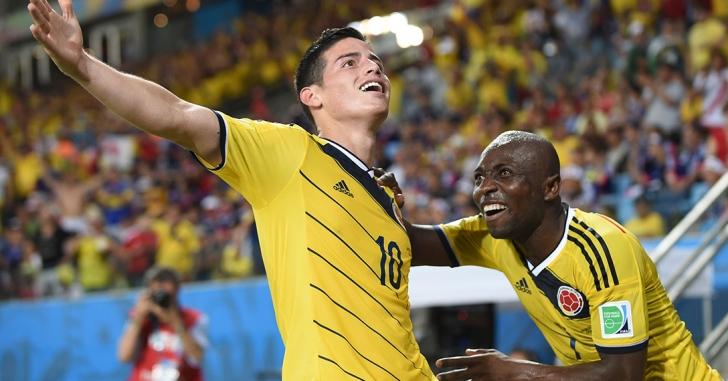 CM Brazilia 2014: Columbia învinge prin dubla lui Rodriguez
