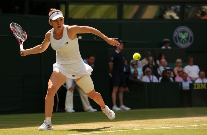 Wimbledon: Simona, ce tur de forță!