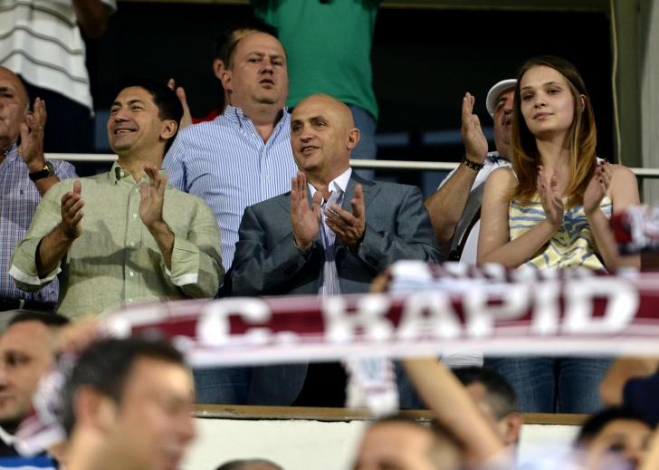 Valerii Moraru a achiziţionat cele 20 procente din acţiunile FC Rapid deţinute de Adrian Zamfir