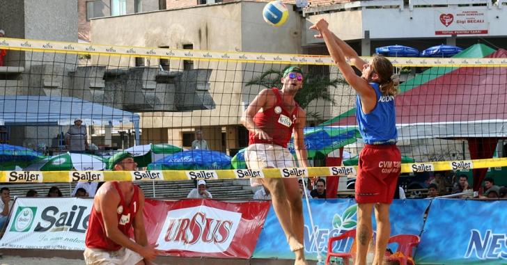 Volei pe plajă: Campionatul național va avea loc la Mamaia