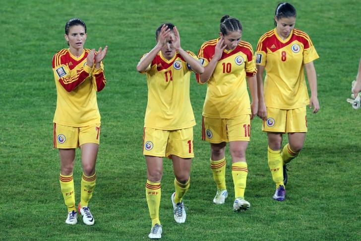 România - Macedonia 6-1 la fotbal feminin