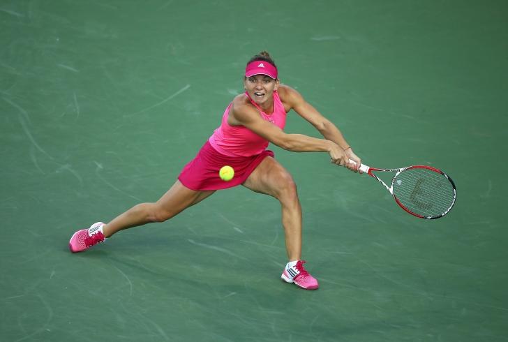 US Open: Simona, fără emoții
