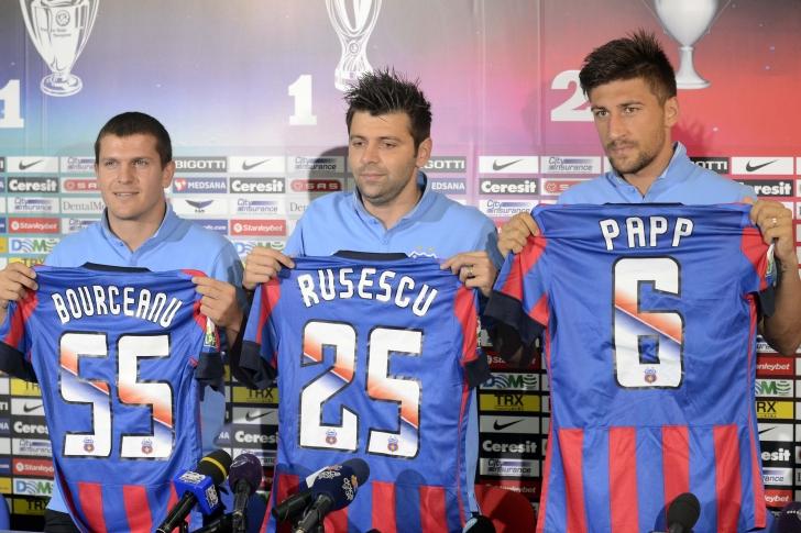 Bourceanu, Rusescu si Papp, prezentati oficial!