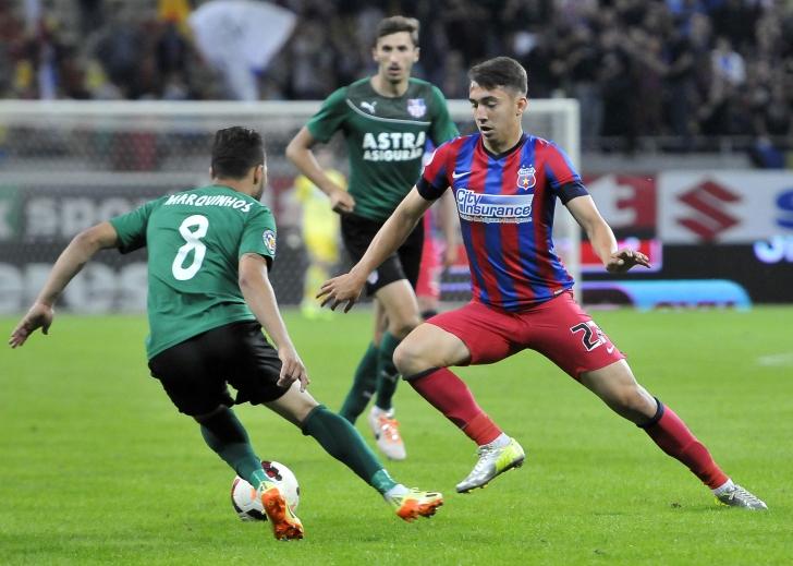 Steaua i-a împrumutat pe Grădinaru și pe Aldea