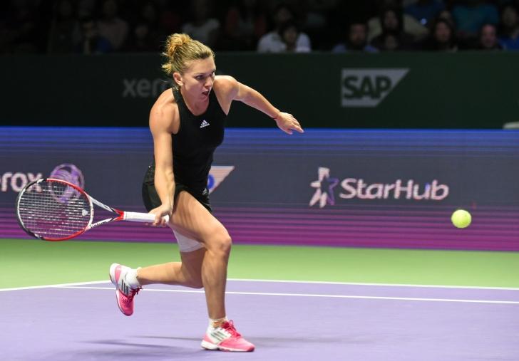 Simona Halep, nominalizată de WTA pentru titlul de jucătoarea lunii octombrie