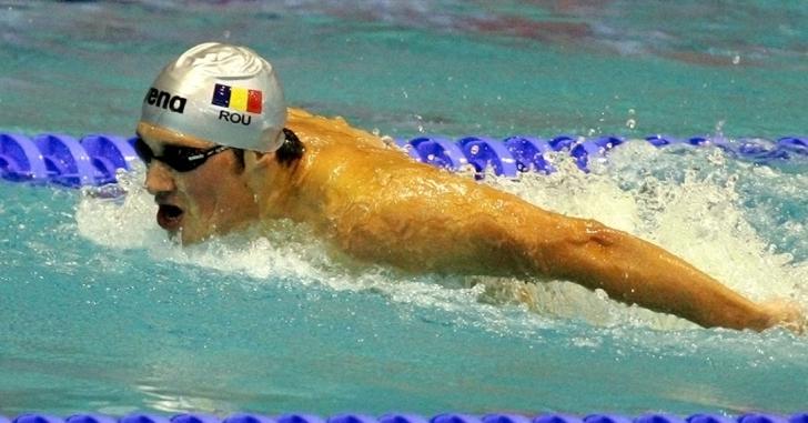 Alexandru Coci, nou record național la 100 m fluture
