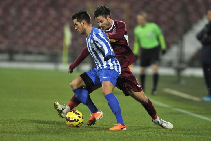 Liga I: CFR Cluj - CSMS Iaşi, scor 4-0
