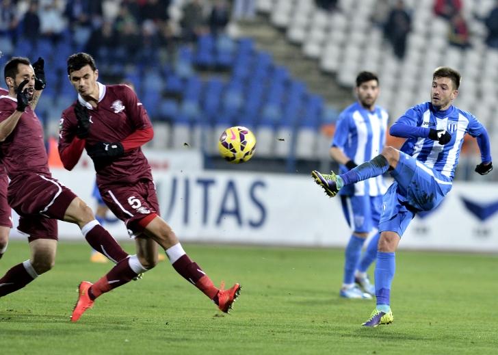 Liga I: CS Universitatea Craiova - Rapid 2-0