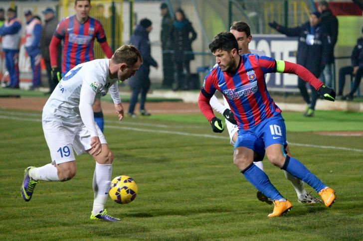 Liga I: FC Botoșani - Steaua 0-2