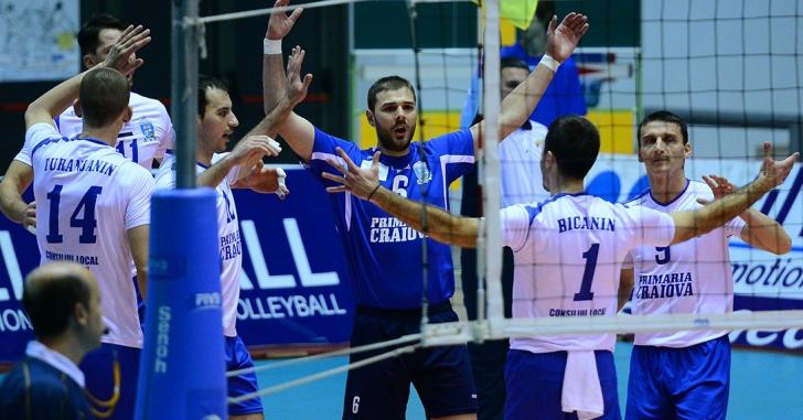 CEV Cup: SCM U Craiova, victorioasă în deplasare
