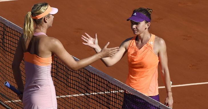 Halep - Șarapova, finala de la Roland Garros, meciul favorit al fanilor la turneele Grand Slam