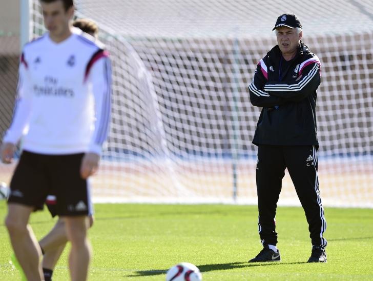 Anghel Iordănescu, revedere cu Carlo Ancelotti la Madrid