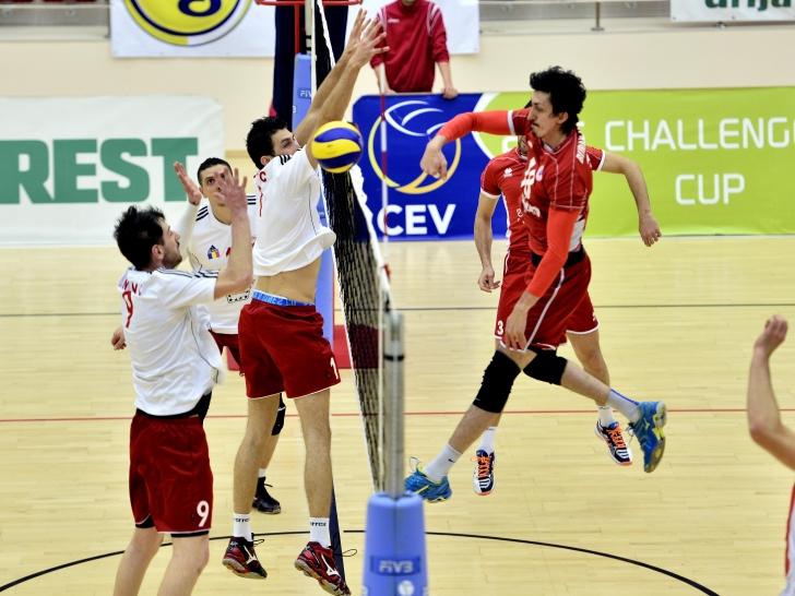 Cupa Challenge: Dinamo, învinsă de Maliye Milli Piyango Ankara