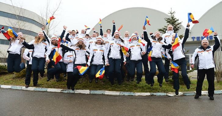 Delegaţia României a plecat la Festivalul Olimpic al Tineretului European