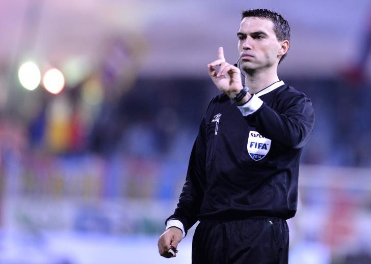 Ovidiu Hațegan delegat la Roma - Feyenoord