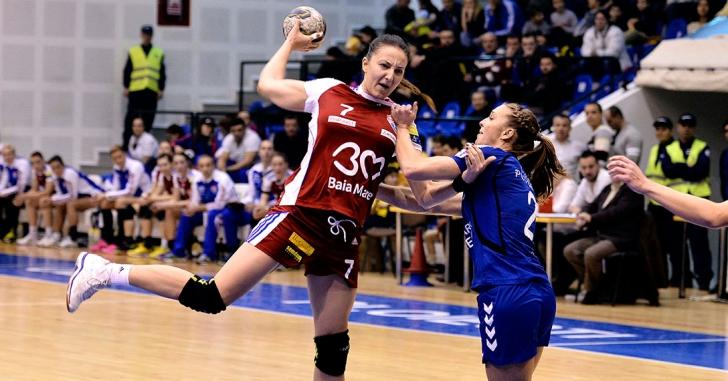 Liga Campionilor: HCM Baia Mare - IK Savehof 34-24