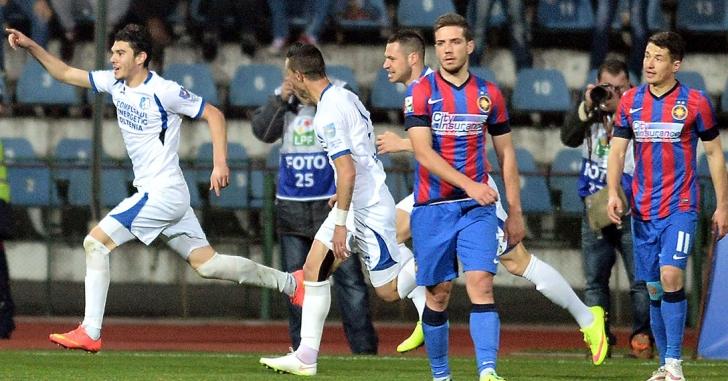 Liga 1: Pandurii Tg. Jiu - Steaua 3-1