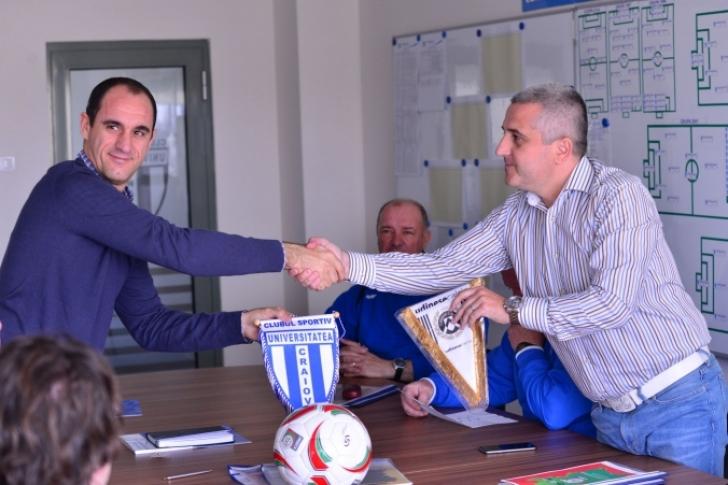 """CS U Craiova și Udinese au avut """"o întâlnire benefică, cu multe idei comune"""""""