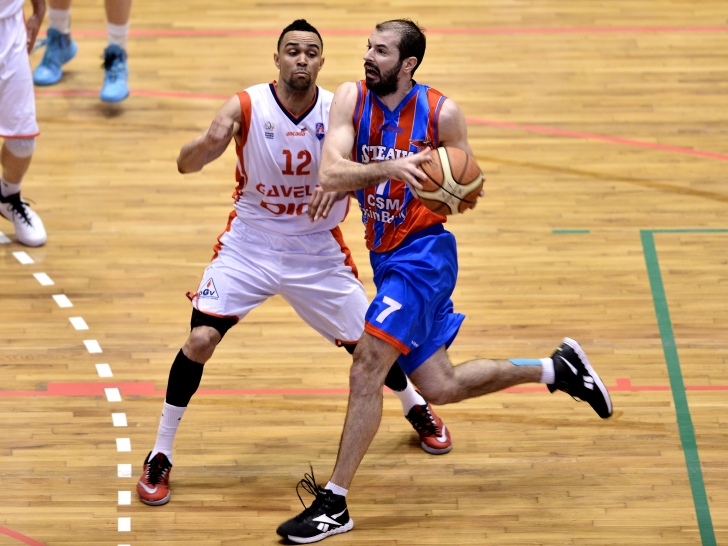LNB m: Steaua, a doua victorie în play-off
