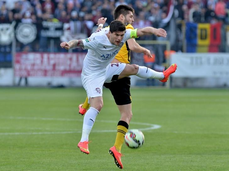 Liga 1: FC Brașov - Rapid București 1-2