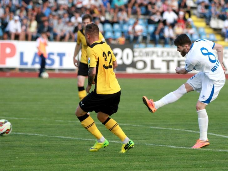 Liga 1: Pandurii Tg. Jiu - FC Brașov 2-0