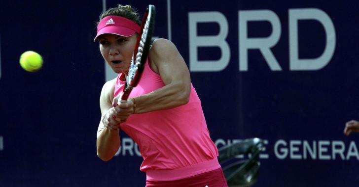 WTA Roma: Halep câștigă și va juca semifinala