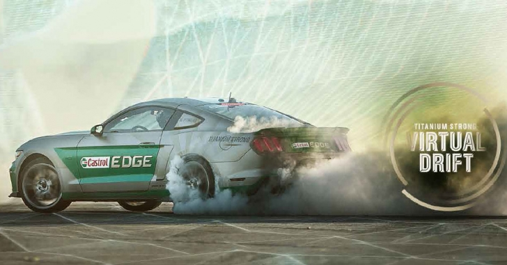 Castrol Edge prezintă Titanium Strong Virtual Drift