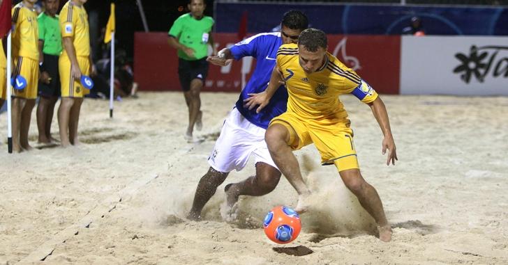 România-Grecia 2-3 într-un amical la fotbal pe plajă