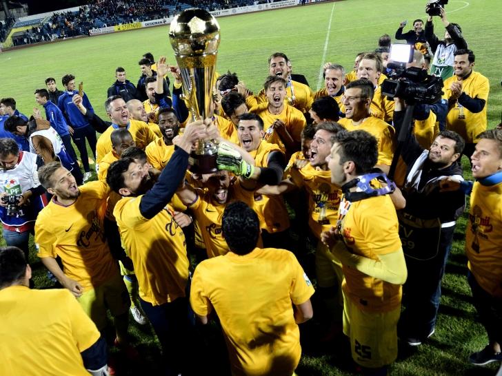 Liga 1: Steaua se încoronează la Iași