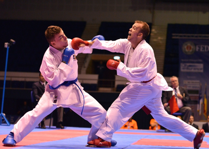 100 de sportivi la Europenele WUKF din Belgia