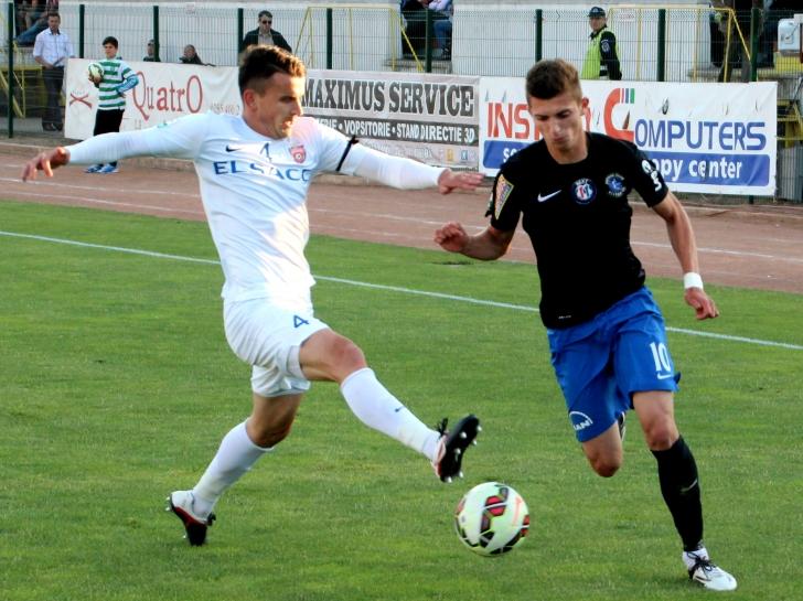 Liga 1: FC Botoşani - FC Viitorul 4-4