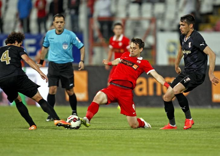 Liga 1: Dinamo - Astra Giurgiu 0-2