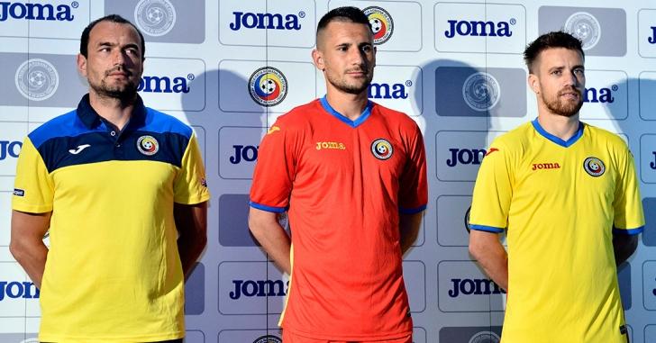 Joma Sport, noul sponsor tehnic al echipelor naționale